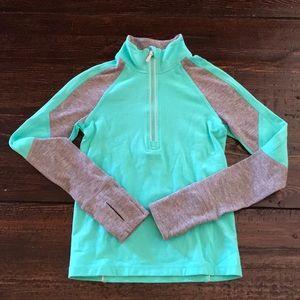 Ivivva half zip jacket, size 4